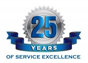 John Roberts Wrexham 25th Anniversary of Servicing Excellence